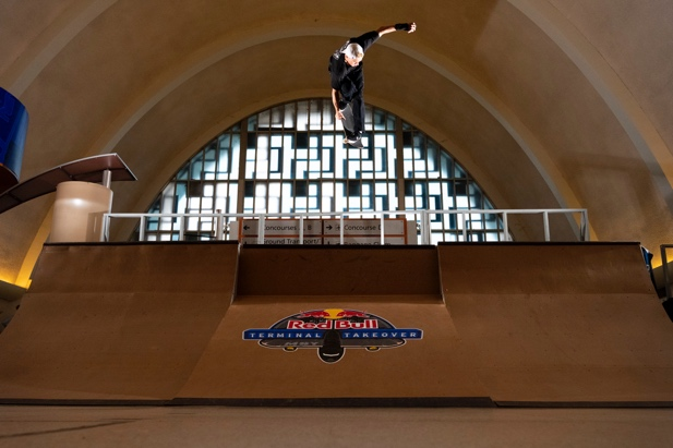 Red Bull Terminal Takeover Transforms Abandoned MSY Airport into the Ultimate Skatepark
