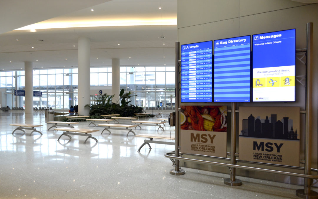 New Orleans Airport Achieves High Scores in Customer Service Surveys